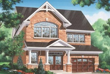 The St. Lawrence new home model plan at the Blue Sky by Fieldgate Homes in Whitchurch-Stouffville