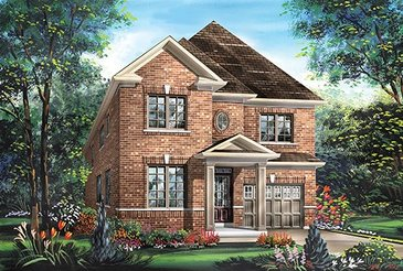 The Sundance new home model plan at the Blue Sky by Fieldgate Homes in Whitchurch-Stouffville