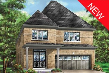 The Woodview new home model plan at the Cobblestones South by Fieldgate Homes in Brampton