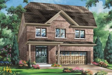 The Emerald new home model plan at the Cobblestones South by Fieldgate Homes in Brampton