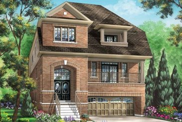 The Ruby new home model plan at the Cobblestones South by Fieldgate Homes in Brampton