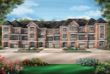 The Marigold new home model plan at the Richlands by Fieldgate Homes in Richmond Hill