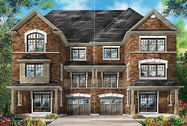 The Carnation new home model plan at the Richlands by Fieldgate Homes in Richmond Hill