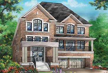 The Violet new home model plan at the Richlands by Fieldgate Homes in Richmond Hill
