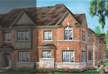 The Pembroke new home model plan at the Whitby Meadows by Fieldgate Homes in Whitby