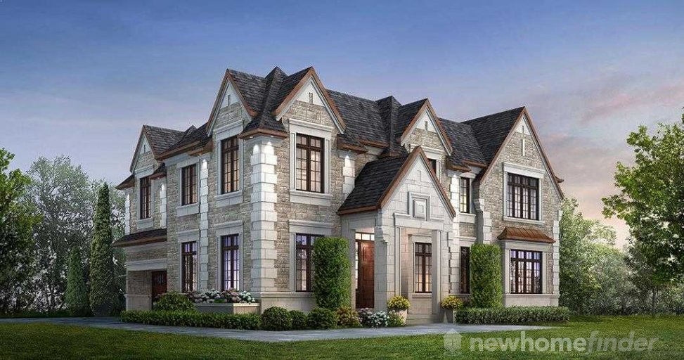 Stanford floor plan at Ivy Hall Estates by CountryWide Homes in Toronto, Ontario