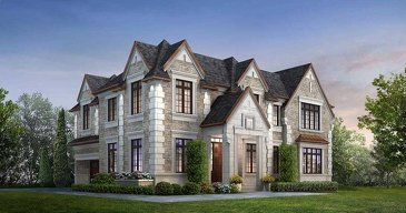 The Stanford new home model plan at the Ivy Hall Estates by CountryWide Homes in Toronto
