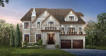 The Dartmouth new home model plan at the Ivy Hall Estates by CountryWide Homes in Toronto