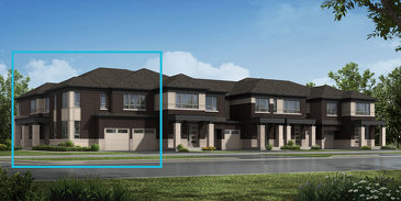 The Trillium Corner new home model plan at the Mount Pleasant North by Mattamy Homes in Brampton