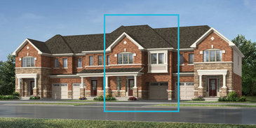 The Shady Lane new home model plan at the Mount Pleasant North by Mattamy Homes in Brampton