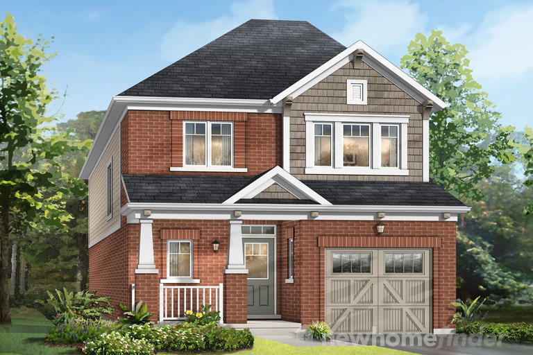 Chelsey 1 floor plan at Queen's Common by Mattamy Homes in Pickering, Ontario