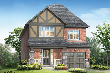 The Nobleton new home model plan at the Queen's Common by Mattamy Homes in Pickering