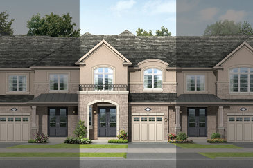 The Cobalt A new home model plan at the Tiffany Hill by Rosehaven Homes in Ancaster