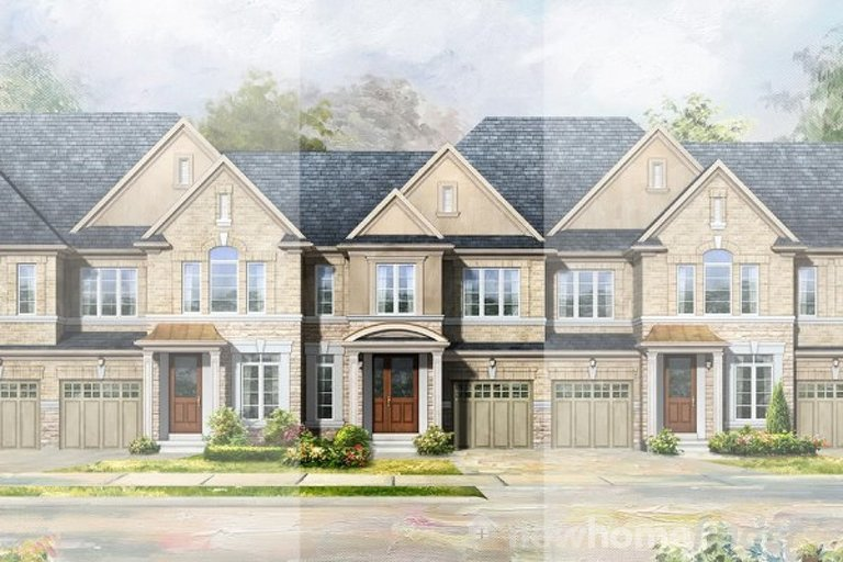 Cawthra A floor plan at Anchor Woods by Rosehaven Homes in Holland Landing, Ontario