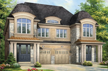 The Lundy A new home model plan at the Anchor Woods by Rosehaven Homes in Holland Landing
