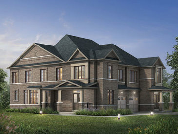 The Easthaven new home model plan at the Beechwood by Paradise Developments in Brampton