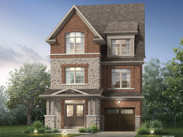 The Kendall new home model plan at the Whitby Meadows (Pa) by Paradise Developments in Whitby