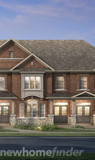 Chestfield floor plan at Whitby Meadows (Pa) by Paradise Developments in Whitby, Ontario