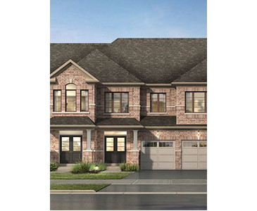 The Alton new home model plan at the High Point by Paradise Developments in Brampton
