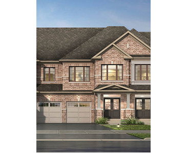The Cornell new home model plan at the High Point by Paradise Developments in Brampton