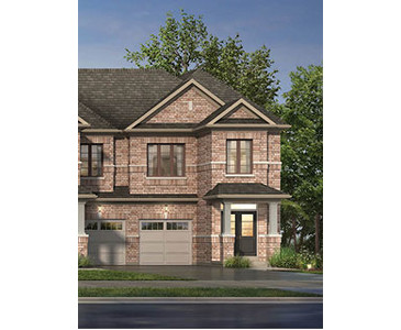 The Edgemont new home model plan at the High Point by Paradise Developments in Brampton