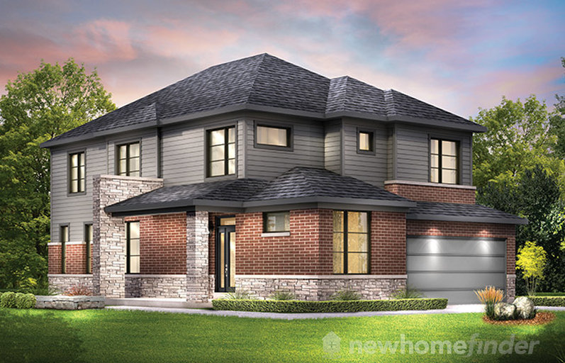 Jasper Corner floor plan at Avalon Encore by Minto Communities in Ottawa, Ontario