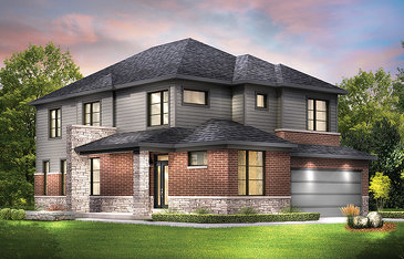 The Jasper Corner new home model plan at the Avalon Encore by Minto Communities in Ottawa