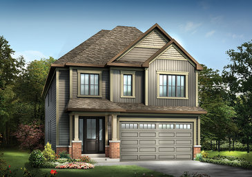 The Brierwood new home model plan at the Mahogany by Minto Communities in Manotick