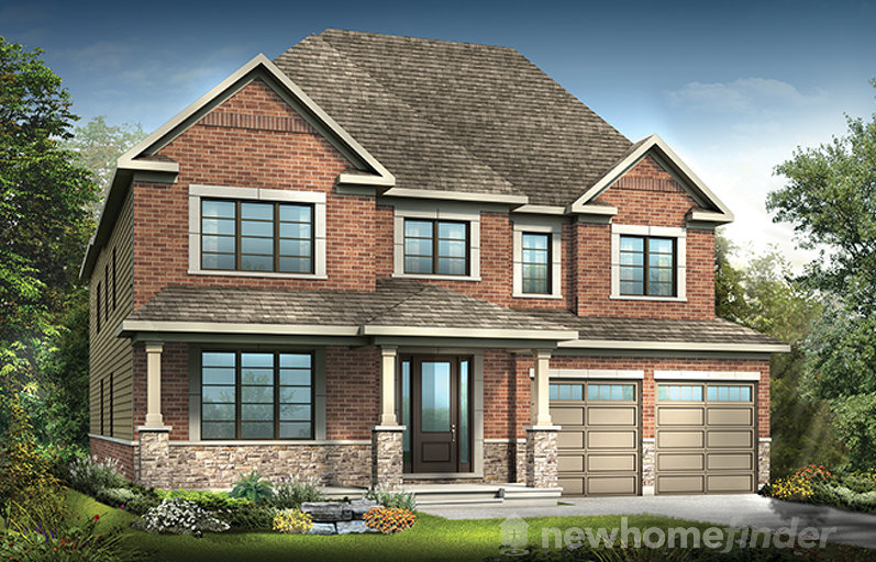 Redwood floor plan at Mahogany by Minto Communities in Manotick, Ontario