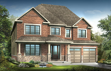 The Redwood new home model plan at the Mahogany by Minto Communities in Manotick