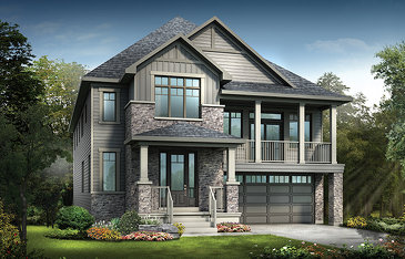 The Noble new home model plan at the Mahogany by Minto Communities in Manotick