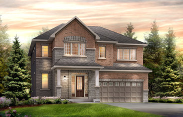 The Drake new home model plan at the Harmony by Minto Communities in Nepean
