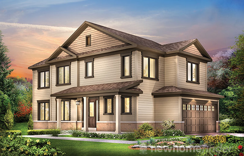 Jefferson floor plan at Harmony by Minto Communities in Nepean, Ontario