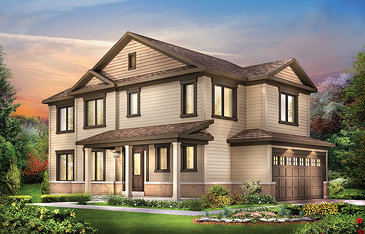 The Jefferson new home model plan at the Harmony by Minto Communities in Nepean