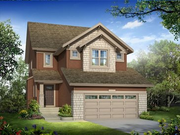 The Griffin new home model plan at the King's Heights by Homes By Avi in Airdrie