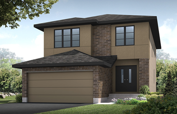 The Chesapeake new home model plan at the Blackstone by Cardel Homes in Kanata