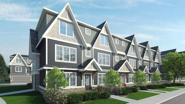 The Rundle new home model plan at the Vantage Fireside by Calbridge in Cochrane