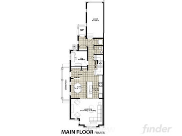 Fraser by Granite Homes floor plan