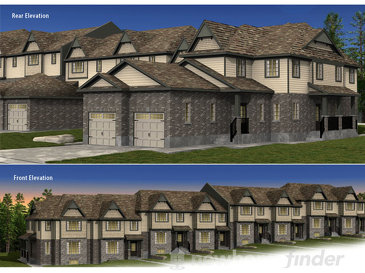The Fraser new home model plan at the The Highlands by Granite Homes in Guelph