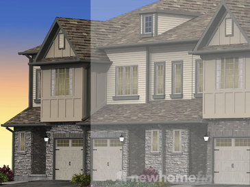 The Victoria new home model plan at the The Highlands by Granite Homes in Guelph