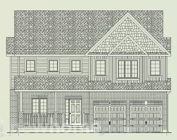 The Lilac new home model plan at the Baldwin Drive by Granite Homes in Cambridge