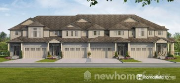 The Tisbury new home model plan at the Aventine Hill at Bird Landing by Thomasfield Homes Limited in Guelph