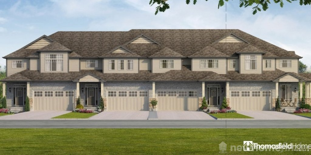 Williamsburg floor plan at Aventine Hill at Bird Landing by Thomasfield Homes Limited in Guelph, Ontario