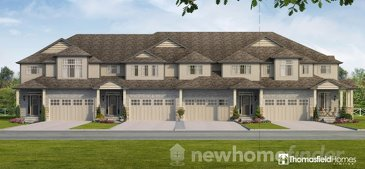 The Williamsburg new home model plan at the Aventine Hill at Bird Landing by Thomasfield Homes Limited in Guelph