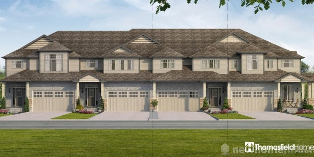 Norfolk floor plan at Aventine Hill at Bird Landing by Thomasfield Homes Limited in Guelph, Ontario