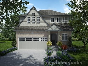 The Bayfield new home model plan at the Mayberry Hill by Thomasfield Homes Limited in Guelph