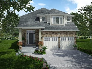 The Trent new home model plan at the Mayberry Hill by Thomasfield Homes Limited in Guelph