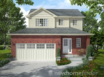 The Norwood new home model plan at the Mayberry Hill by Thomasfield Homes Limited in Guelph