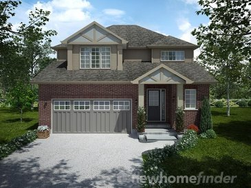 The Jackson new home model plan at the Mayberry Hill by Thomasfield Homes Limited in Guelph