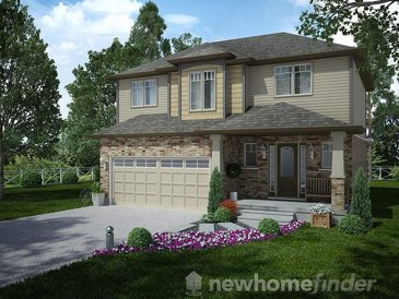 The Lismer new home model plan at the Mayberry Hill by Thomasfield Homes Limited in Guelph